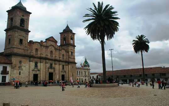zipaquira main square
