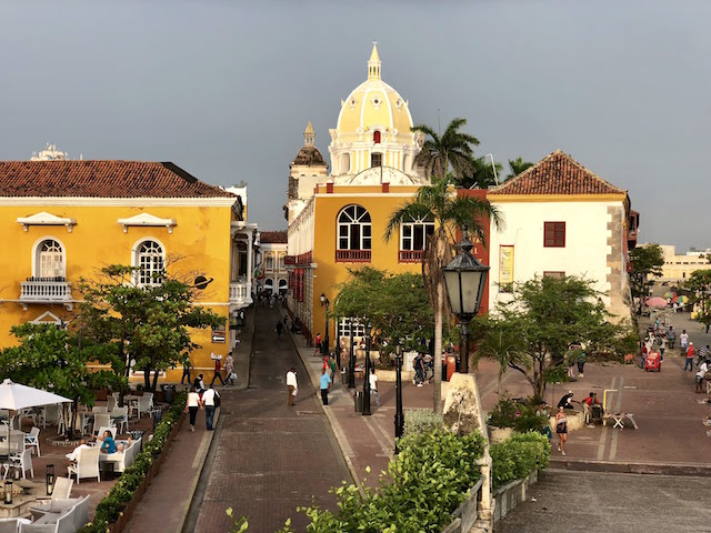 cartagena colonial center