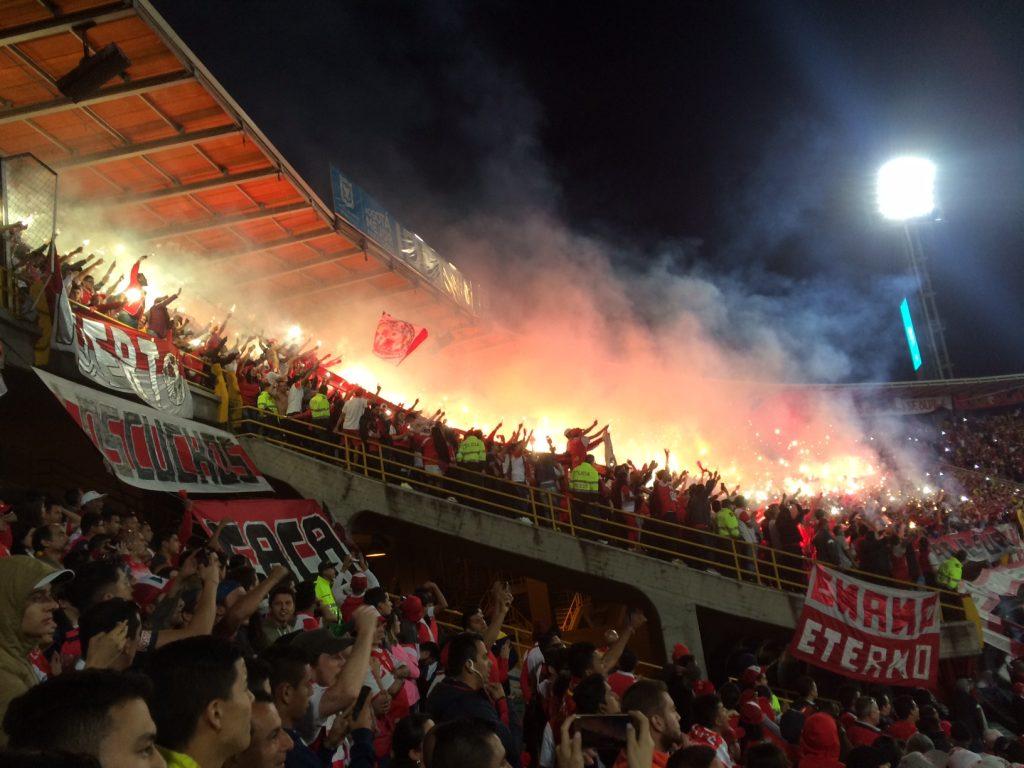 Estadio El Campin (Santa Fé - Deportivo Tolima final - 2016)