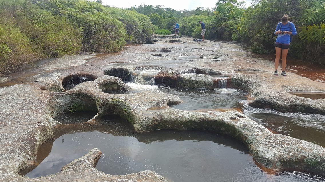 Quebrada las Gachas river