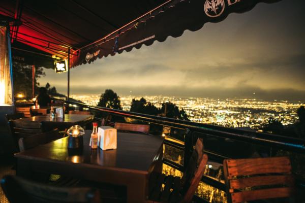 La Calera view